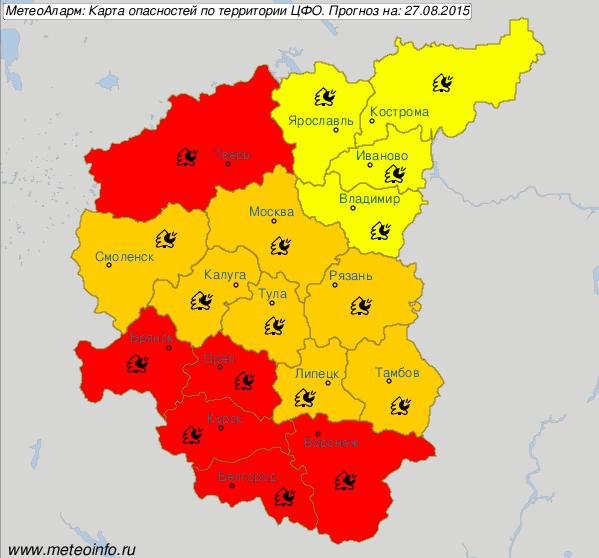В Москве объявлен повышенный уровень пожарной опасности. Изображение № 1.