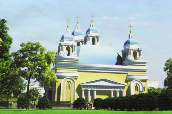 Макет комплекса: администрация Фрунзенского района. Изображение № 3.