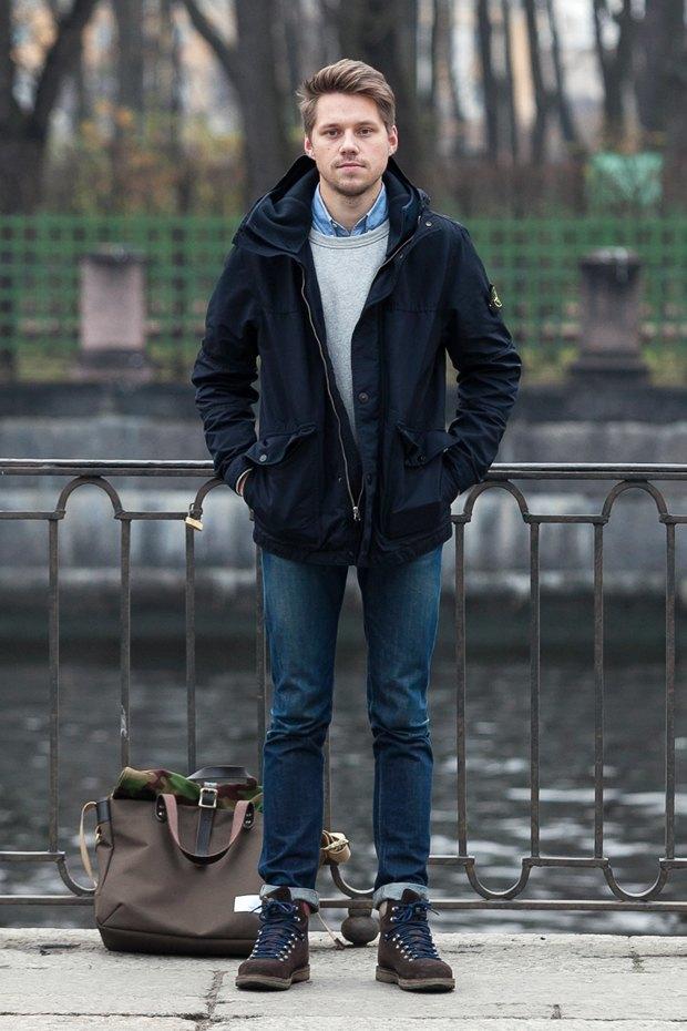 Внешний вид (Петербург): Илья Вахошкин, сотрудник магазина Mint. Изображение № 1.