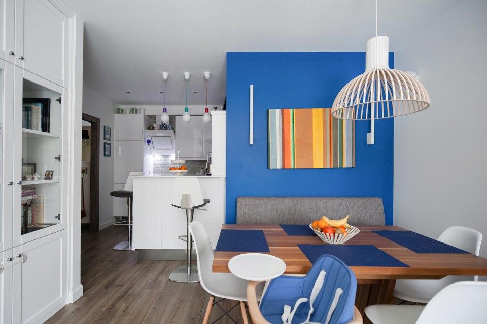 Трёхкомнатная квартира вскандинавском стиле наберегуозера . Изображение № 4.