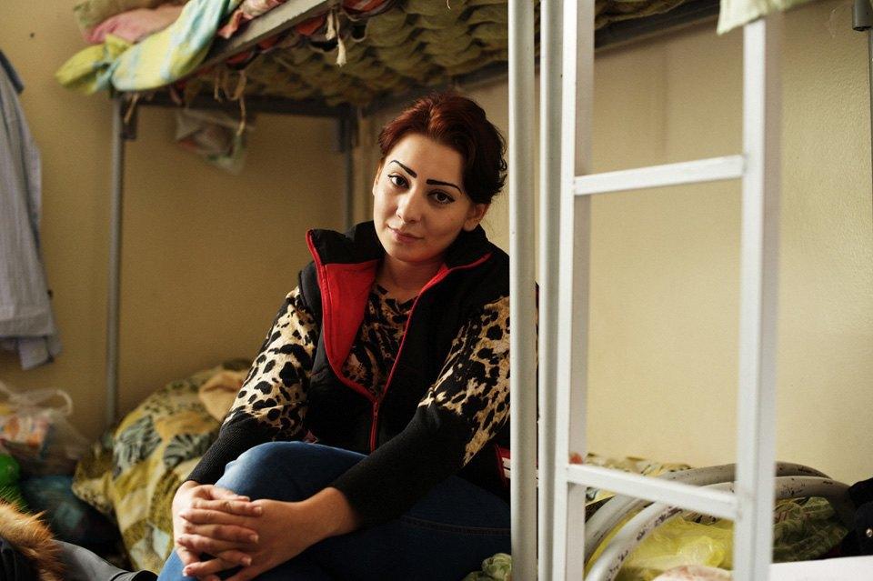 Украинские беженцы  в общежитии вПечатниках. Изображение № 3.