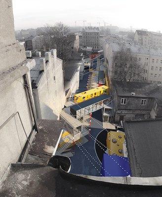 Во дворе «Этажей» появится улица изконтейнеров . Изображение № 1.