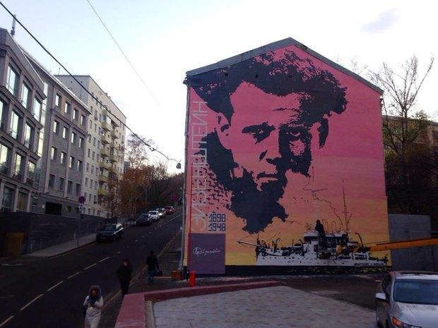 Портрет Эйзенштейна вБольшом Ватином переулке. Изображение № 2.