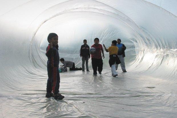 Идеи для города: Пузырь для митингов в плохую погоду. Изображение № 6.