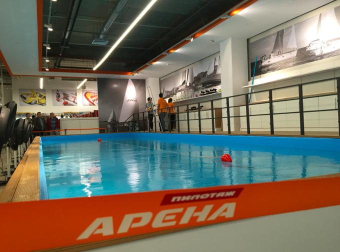 В торговом центре «Авиапарк» открылась площадка для игр и соревнований. Изображение № 1.