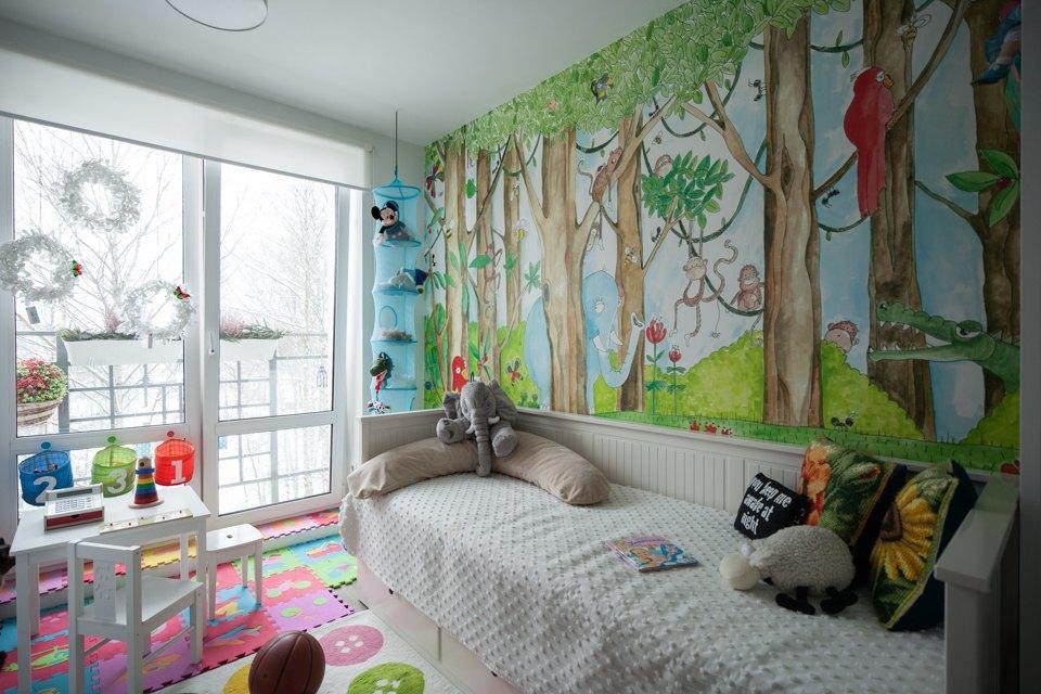 Трёхкомнатная квартира вскандинавском стиле наберегуозера . Изображение № 13.