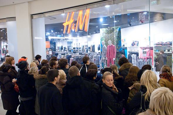 Размер не имеет значения: Начало продаж Versace for H&M. Изображение № 4.