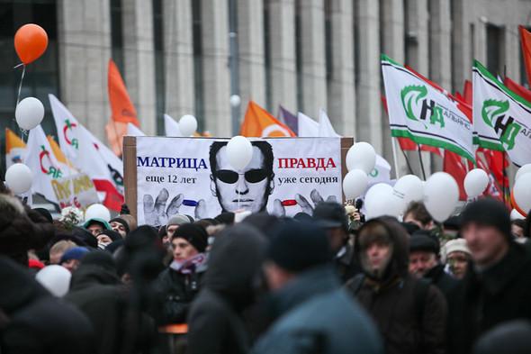Митинг «За честные выборы» на проспекте Сахарова: Фоторепортаж, пожелания москвичей и соцопрос. Изображение № 65.