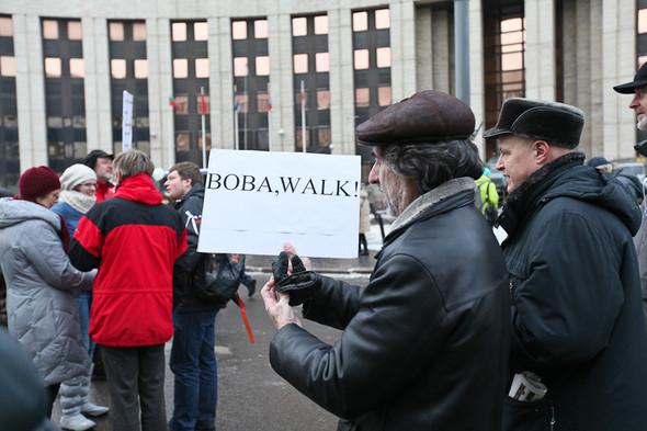 Митинг «За честные выборы» на проспекте Сахарова: Фоторепортаж, пожелания москвичей и соцопрос. Изображение № 7.