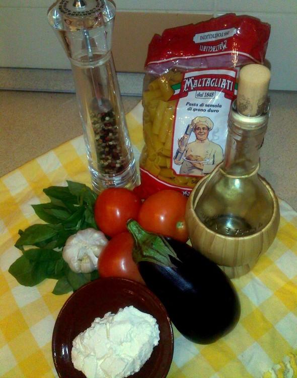 Паста 'alla norma' по сицилийскому рецепту. Изображение № 1.