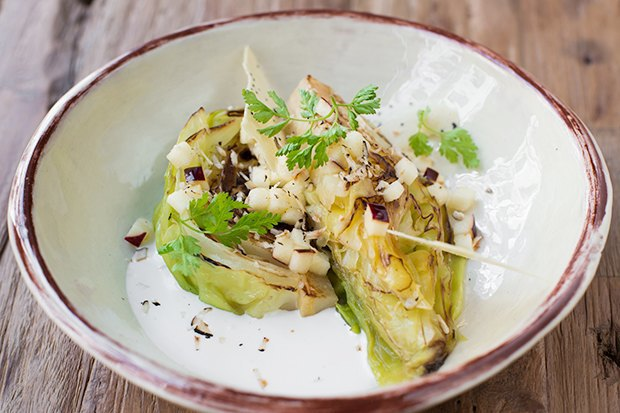 Насколько разные блюда приготовят 10шеф-поваров изодного продукта— капусты. Изображение № 8.