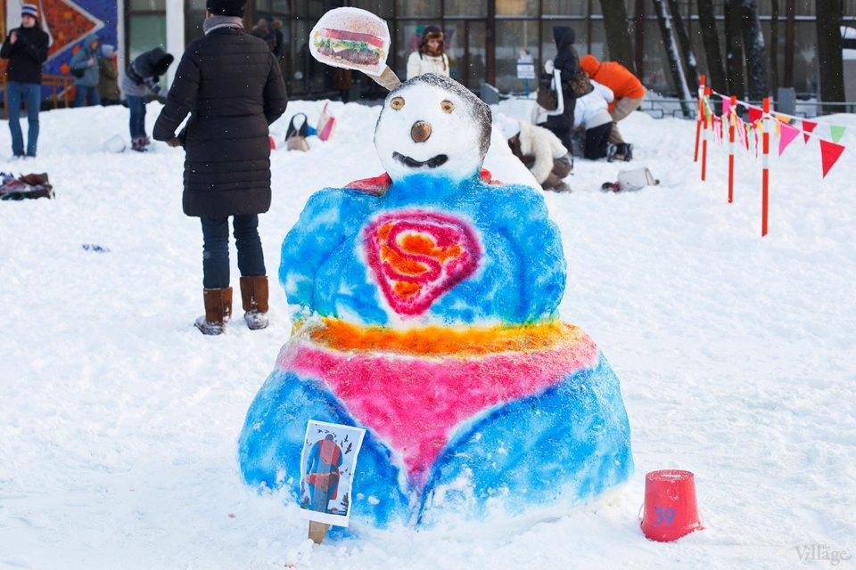 Люди в городе: «Арт-битва снеговиков». Изображение № 13.