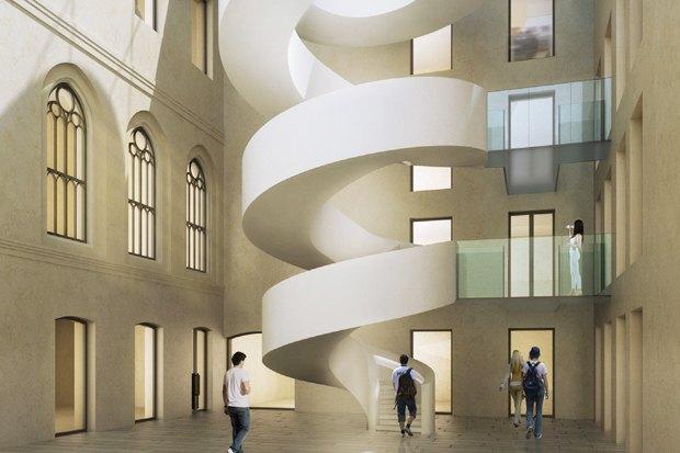 Европейский университет: 4 проекта реконструкции. Изображение № 9.