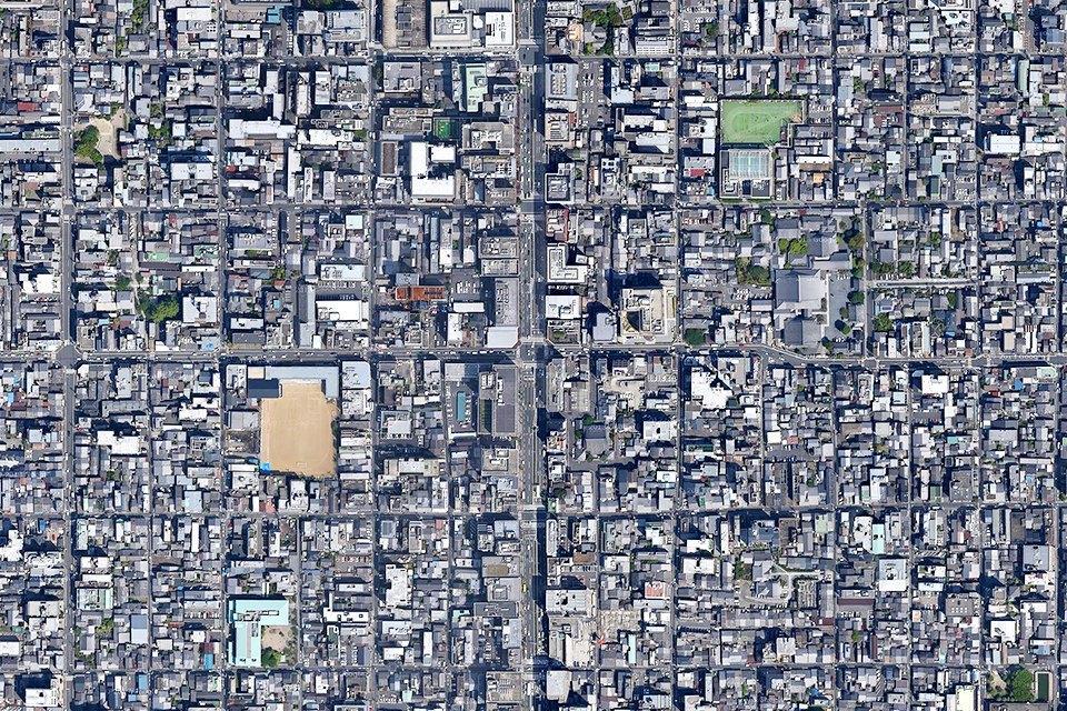 Лучшие виды городов мира изкосмоса. Изображение № 4.