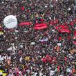 Митинг «За честные выборы» на проспекте Сахарова: Фоторепортаж, пожелания москвичей и соцопрос. Изображение № 2.