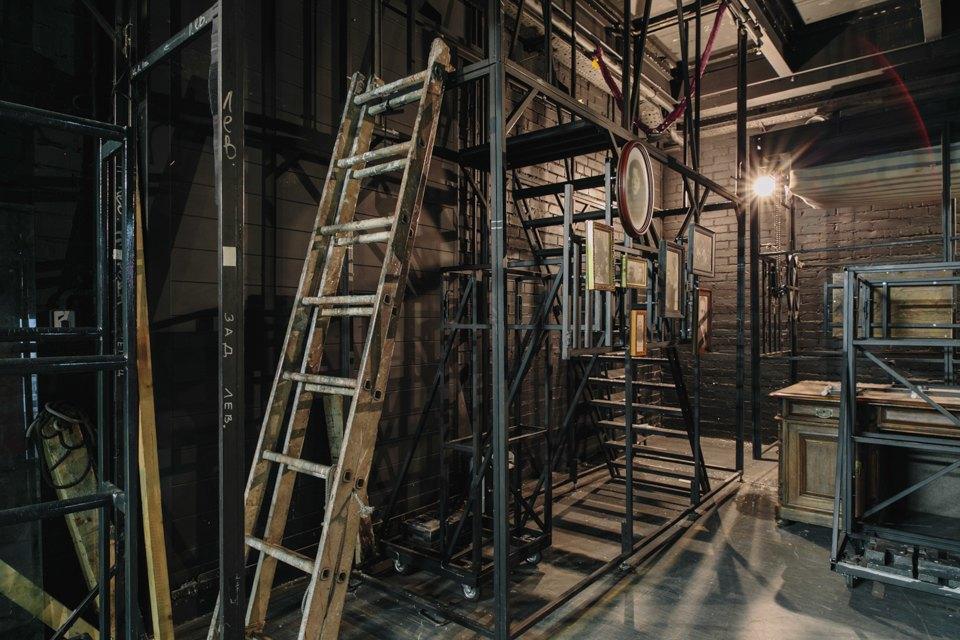 «Студия театрального искусства» вздании бывшей фабрики. Изображение № 47.