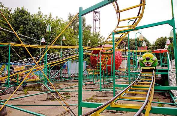 Карусель-карусель: 6 московских парков аттракционов. Изображение № 89.
