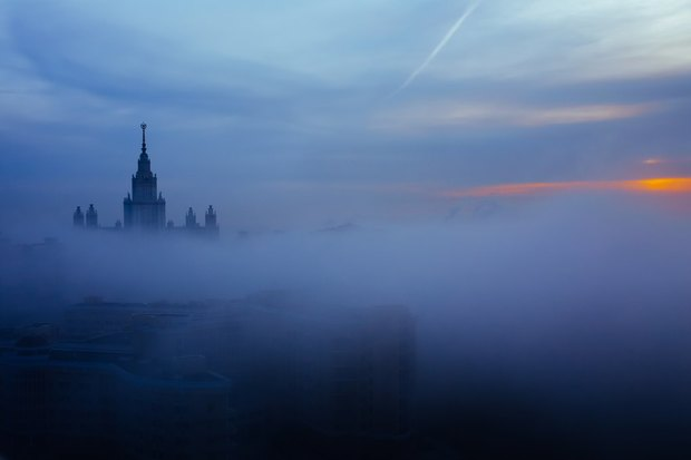 Туман над Москвой. Изображение № 1.