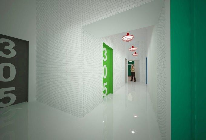 На проспекте Энгельса откроется хостел и центр современного искусства YarkyHostel&Space. Изображение № 3.