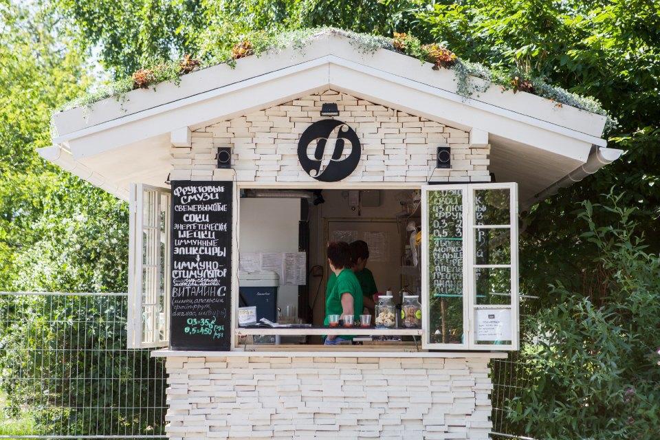 Еда в парке Горького: 33кафе, ресторана икиоска. Изображение № 47.