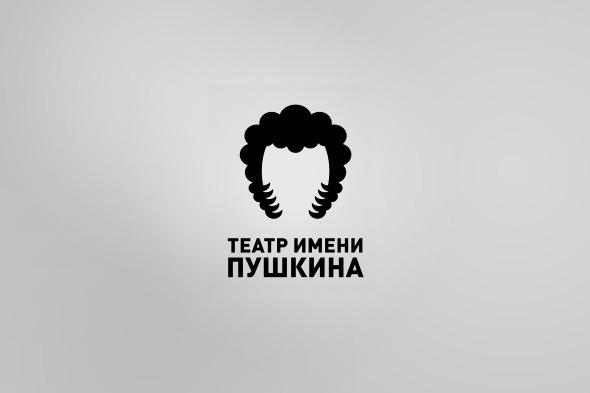 Выпускник «Британки» разработал фирменный стиль для Театра имени Пушкина. Изображение № 1.
