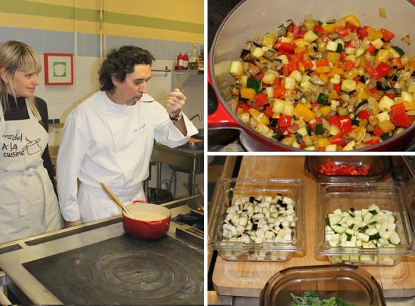 Время есть: Репортаж с мастер-класса в кулинарном ателье Comme Un Chef ресторана Carre Blanc. Изображение № 6.