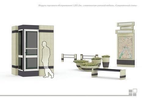 Изображение 12. В Москве представлен проект типовых торговых палаток.. Изображение № 12.