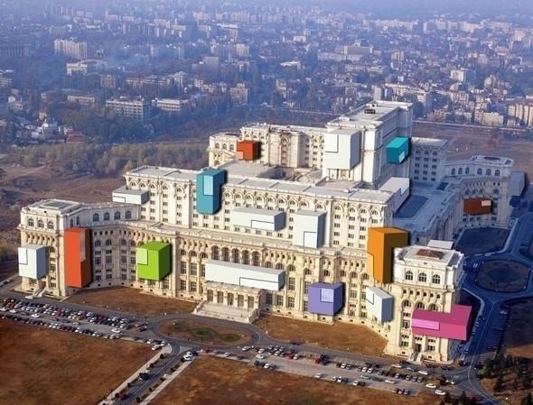 проект Дома Народа в Румынии. Изображение № 5.