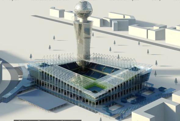 Изображение 6. Стадион ЦСКА достроят к концу 2012 года.. Изображение № 6.