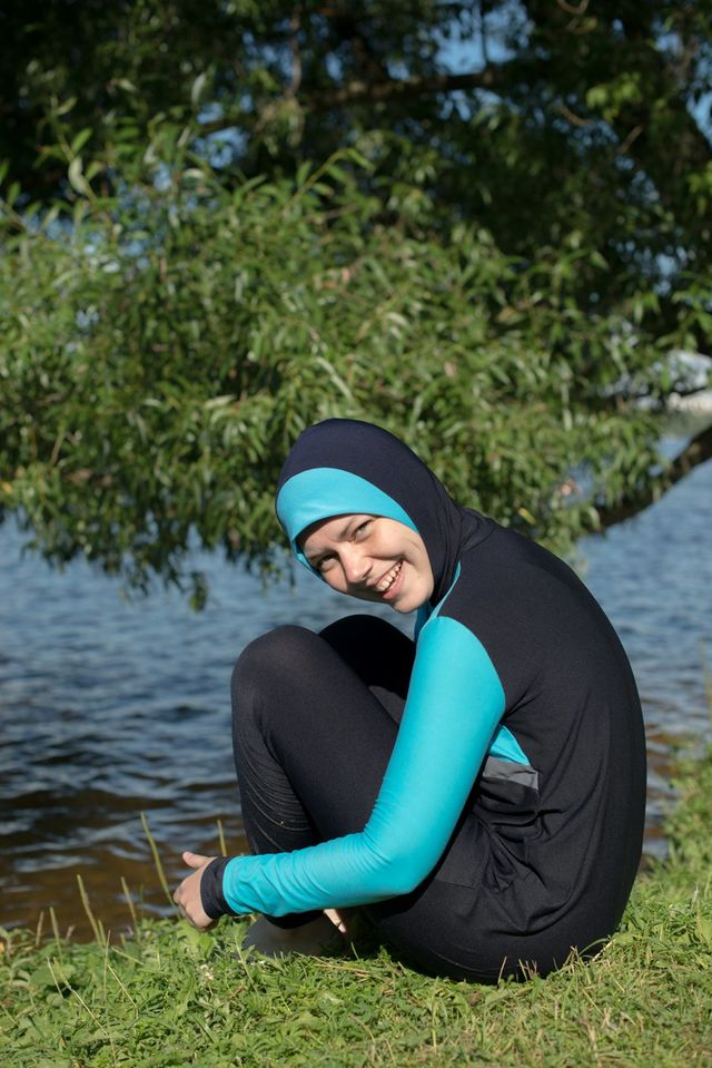 Как я плавала в буркини в Москве