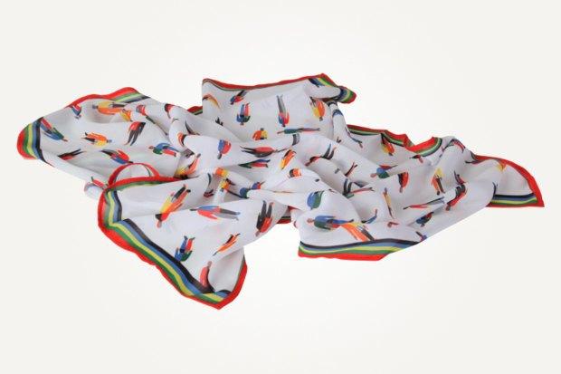 Платок «Спортсмены» — 1 500 рублей. Изображение № 2.