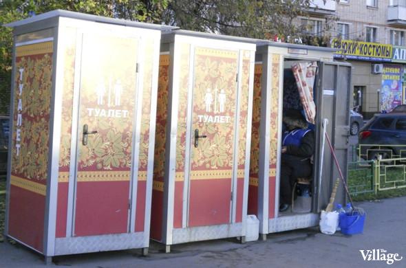 В Москве появились новые биотуалеты, расписанные под хохлому. Изображение № 2.