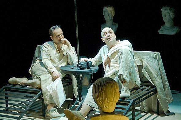 Фотография: театр Фотография: театр «За Чёрной речкой». Изображение № 45.