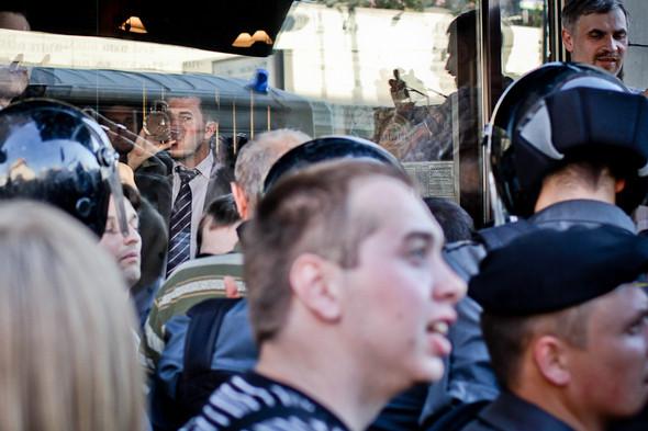 Изображение 14. Copwatch: действия полиции на митинге «Стратегии-31» на Триумфальной площади.. Изображение № 12.