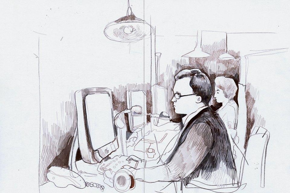 Московские офисы врисунках Лизы Смирновой. Изображение № 2.