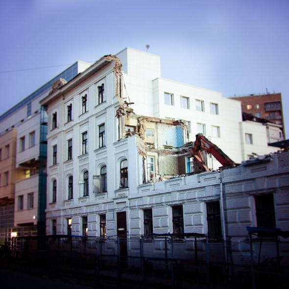 Изображение 3. В зоне риска: дом Кольбе на Большой Якиманке.. Изображение № 3.