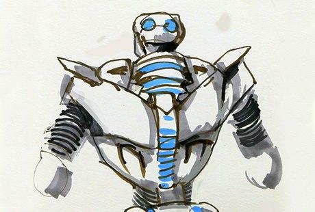 Выставка «Бал роботов». Изображение № 6.