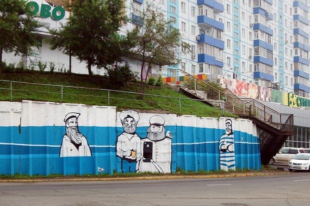 Уличный художник Павел Шугуров: «Быть чиновником — это прикольно». Изображение № 28.