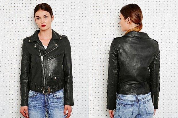 Где купить женскую кожаную куртку: 9вариантов от 8 до 169 тысяч рублей. Изображение № 6.