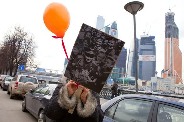 В Москве прошло арт-шествие в честь Дня космонавтики. Изображение № 21.