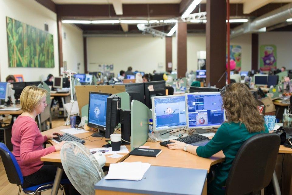 Как работают в офисе «Смешариков». Изображение № 4.