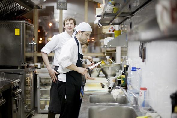Изображение 4. Фоторепортаж с кухни: Ресторан «Бонтемпи».. Изображение № 15.