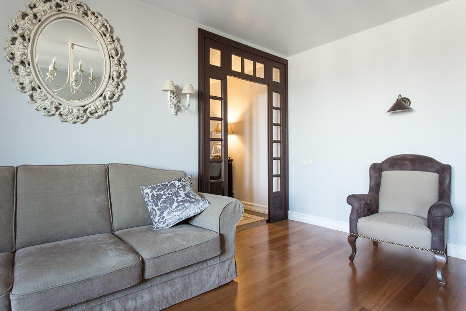 Большая квартира для семьи на«Нагатинской» с кабинетом илимонной ванной. Изображение № 20.