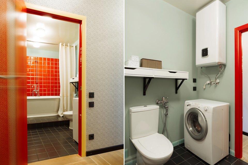 Однокомнатная холостяцкая квартира сумным зонированием. Изображение № 14.
