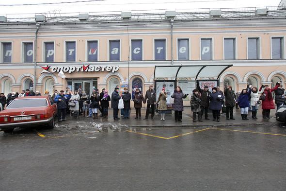 Близкое окружение: Участники акции «Белый круг» о проблемах Москвы. Изображение № 42.