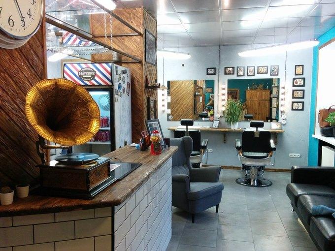 На Большой Ордынке открылась тату-студия и мужская парикмахерская Maverick Studio. Изображение № 3.