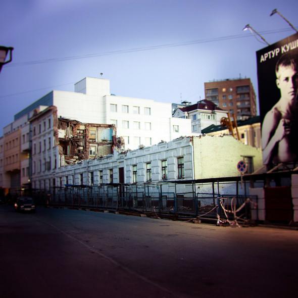 Изображение 1. В зоне риска: дом Кольбе на Большой Якиманке.. Изображение № 1.