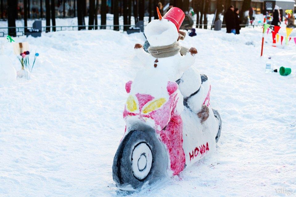 Люди в городе: «Арт-битва снеговиков». Изображение № 22.