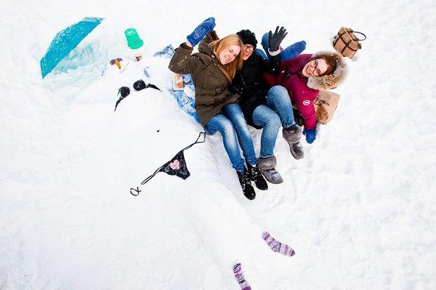 Люди в городе: «Арт-битва снеговиков». Изображение № 37.