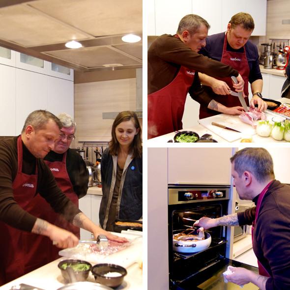 Время есть: Репортаж с мастер-класса Айзека Корреа на редакционной кухне журнала «ХлебСоль». Изображение № 3.
